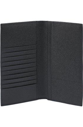 Комплект из обложки для паспорта и футляра для документов Dolce & Gabbana черного цвета | Фото №7