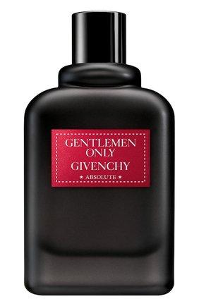 Парфюмерная вода Gentlemen Only Absolute | Фото №1