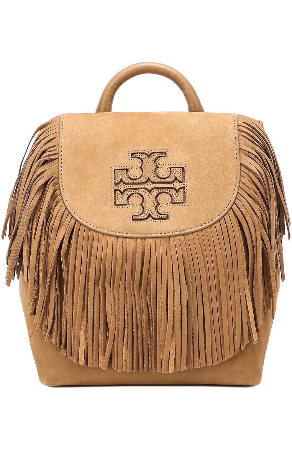 Замшевый рюкзак Harper Fringe Mini | Фото №1