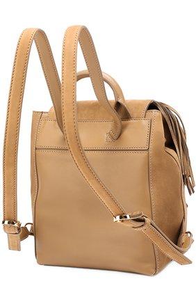 Замшевый рюкзак Harper Fringe Mini | Фото №3