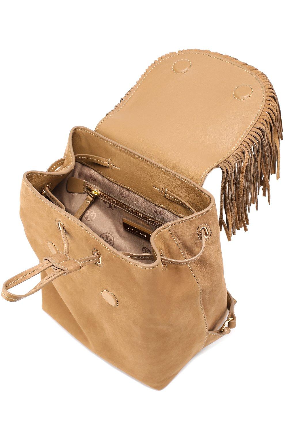 Замшевый рюкзак Harper Fringe Mini | Фото №4