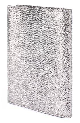 Обложка для документов из металлизированной кожи | Фото №2