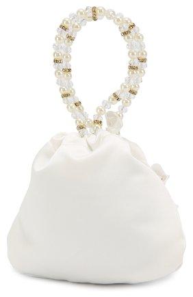 Детская сумка с декором DAVID CHARLES белого цвета, арт. BAG 3 | Фото 2