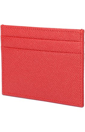 Футляр для кредитных карт Dolce & Gabbana красного цвета | Фото №2