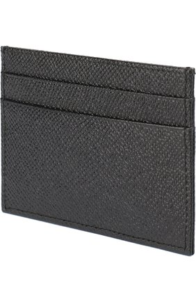 Футляр для кредитных карт Dolce & Gabbana черного цвета   Фото №2