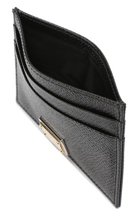 Футляр для кредитных карт Dolce & Gabbana черного цвета   Фото №3