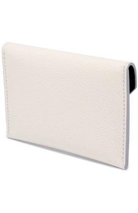 Женский футляр для кредитных карт ALEXANDER MCQUEEN кремвого цвета, арт. 439197/DN15I | Фото 2