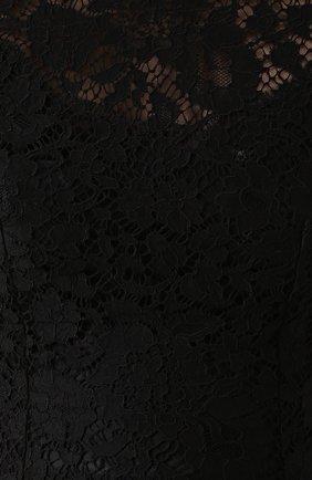 Приталенный кружевной топ без рукавов   Фото №5