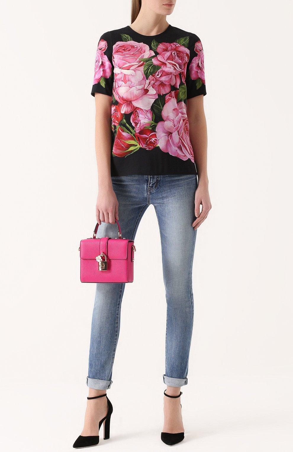 Сумка Dolce Soft Dolce & Gabbana фуксия цвета   Фото №2