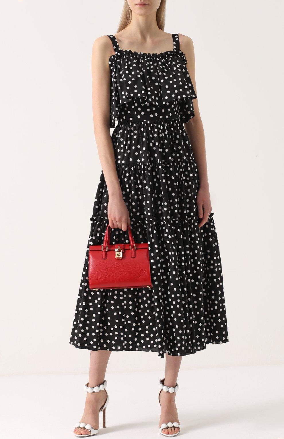 Сумка Dolce Lady Dolce & Gabbana красная цвета   Фото №2