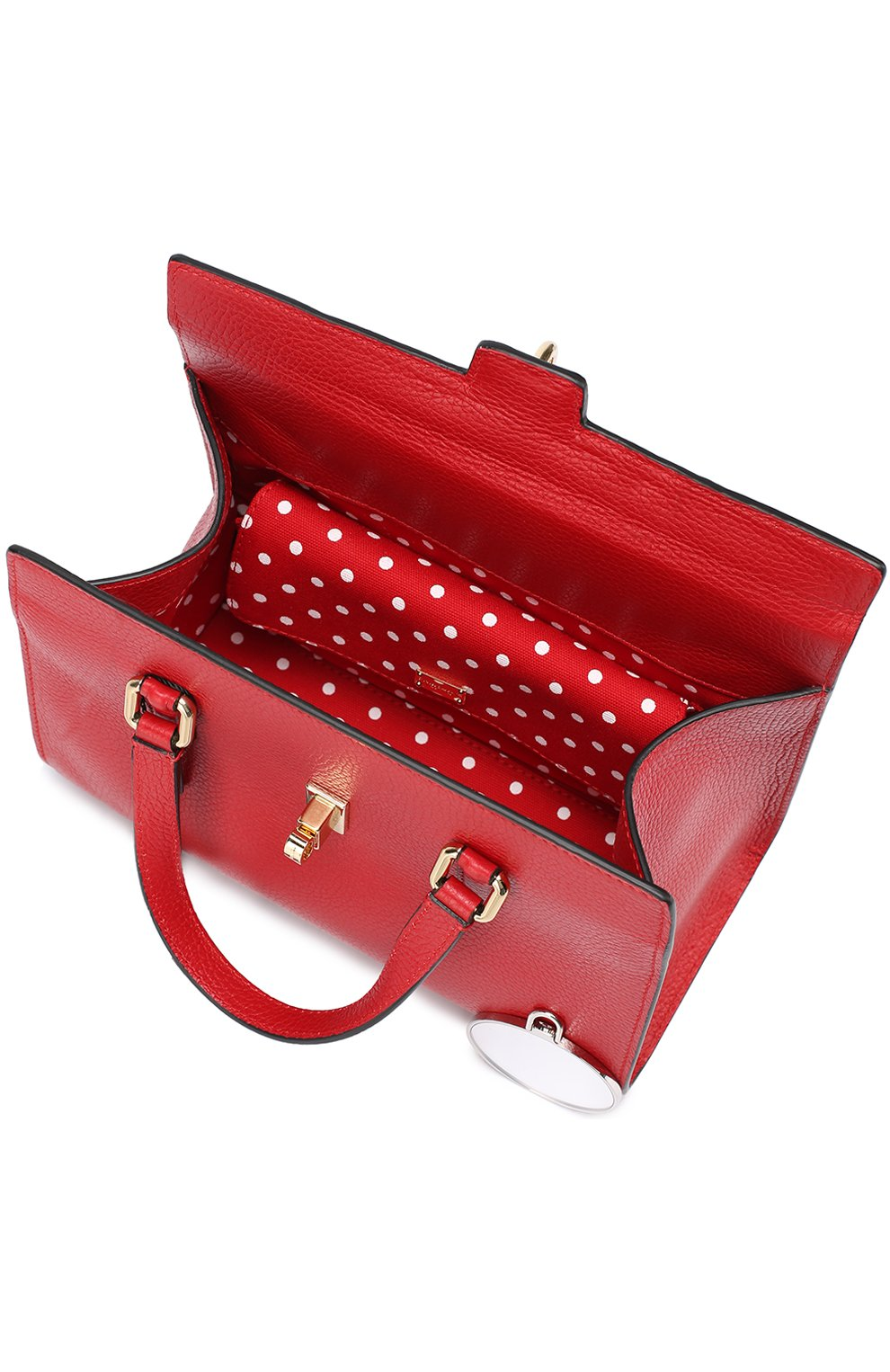 Сумка Dolce Lady Dolce & Gabbana красная цвета   Фото №4