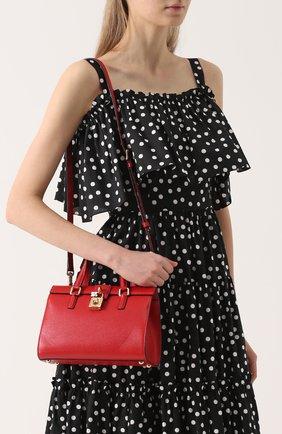 Сумка Dolce Lady Dolce & Gabbana красная цвета   Фото №5