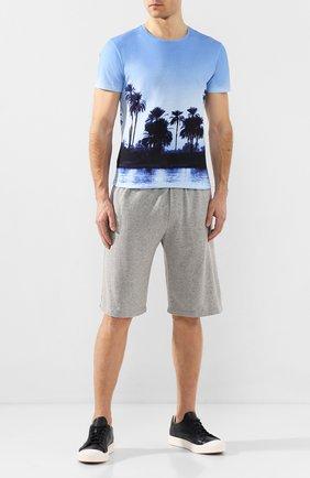 Хлопковые шорты с заниженной линией шага | Фото №2