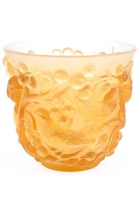 Мужская ваза avallon LALIQUE желтого цвета, арт. 10362200 | Фото 1