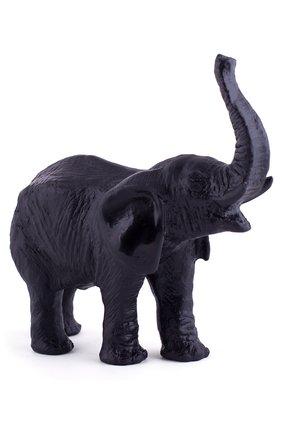 Мужского скульптура elephant DAUM черного цвета, арт. 03238-2 | Фото 2