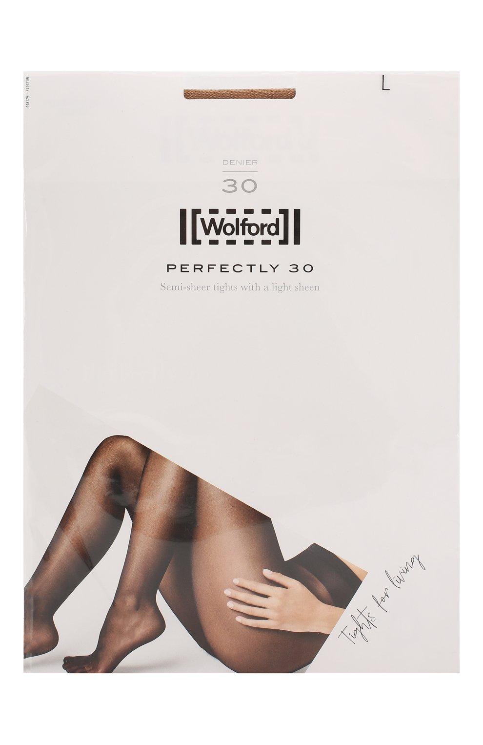 Женские капроновые колготки WOLFORD бежевого цвета, арт. 18179 | Фото 1