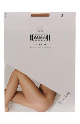 Женские капроновые колготки WOLFORD бежевого цвета, арт. 17028 | Фото 1