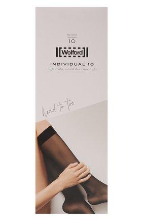 Женские капроновые гольфы WOLFORD черного цвета, арт. 31241 | Фото 1