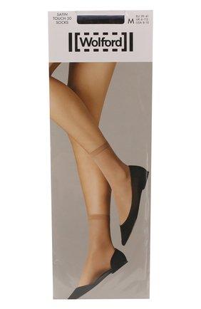 Женские капроновые носки WOLFORD черного цвета, арт. 41238 | Фото 1