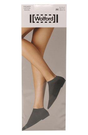 Женские капроновые носки WOLFORD черного цвета, арт. 45018 | Фото 1