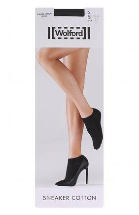Женские капроновые носки WOLFORD серого цвета, арт. 45018 | Фото 1