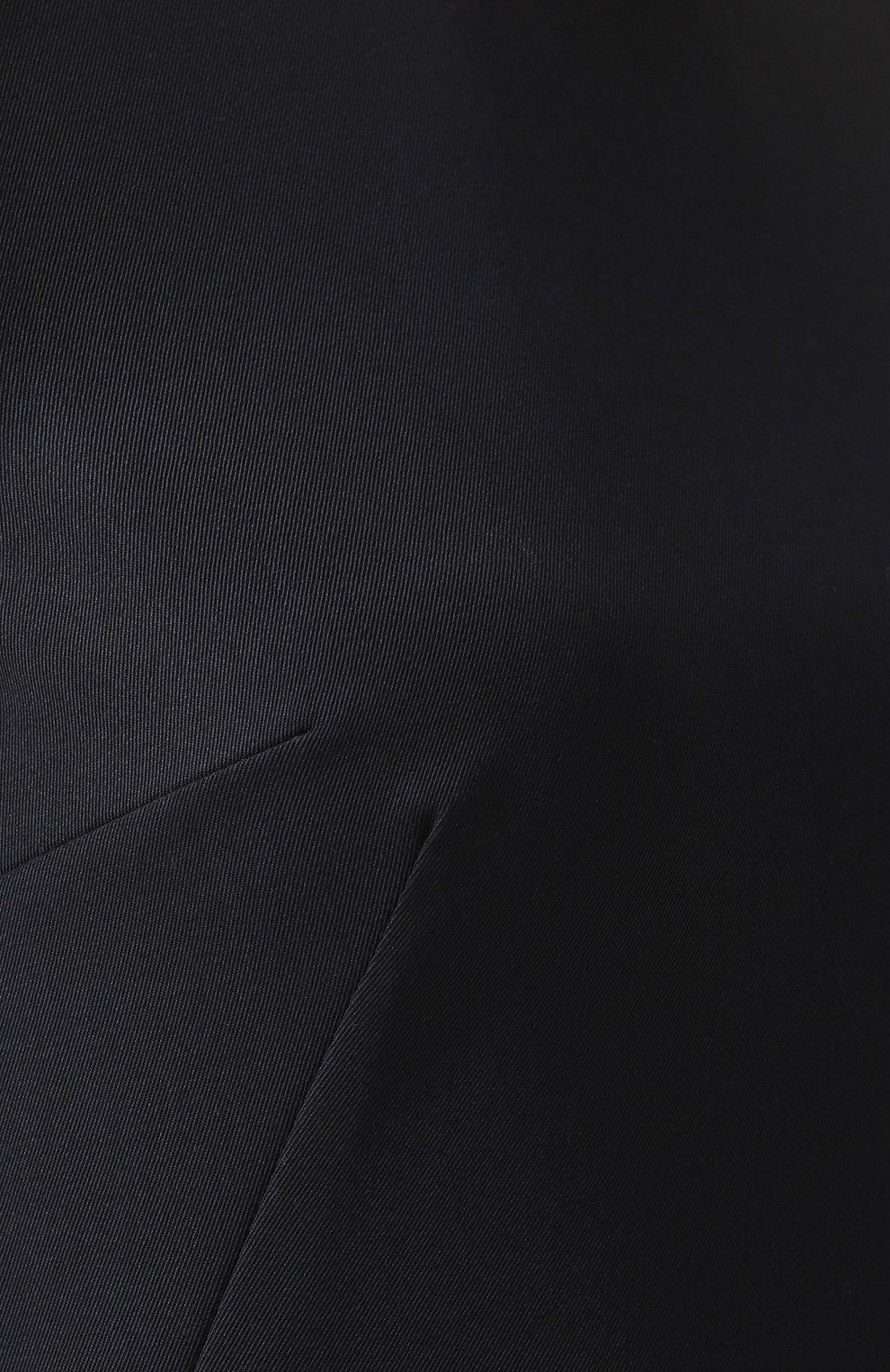 Приталенное мини-платье без рукавов Dolce & Gabbana темно-синее | Фото №5