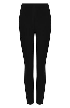 Хлопковые брюки с завышенной талией Rag&Bone черные | Фото №1