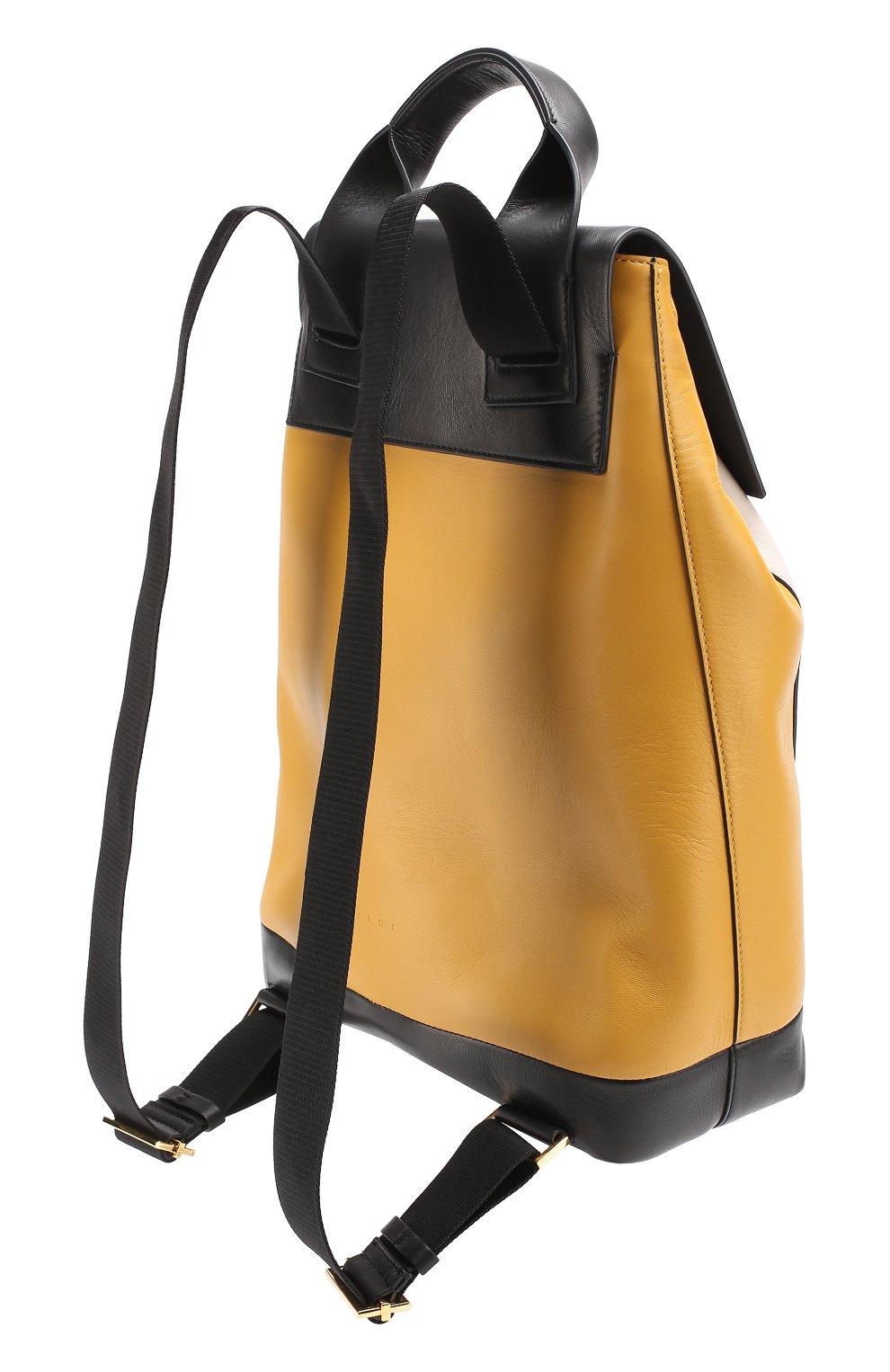 Рюкзак Pod из комбинированной кожи   Фото №3