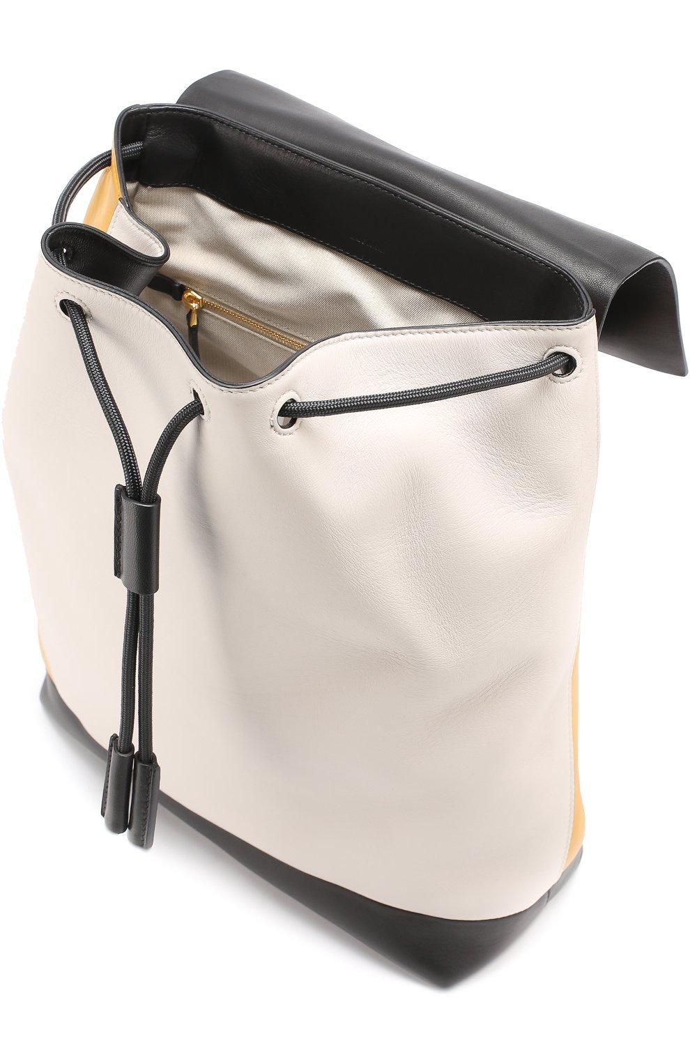 Рюкзак Pod из комбинированной кожи   Фото №4