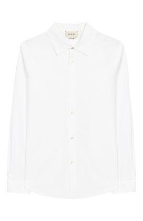 Классическая рубашка из хлопка | Фото №1