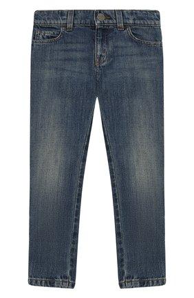 Детские джинсы GUCCI синего цвета, арт. 453311/XR384   Фото 1