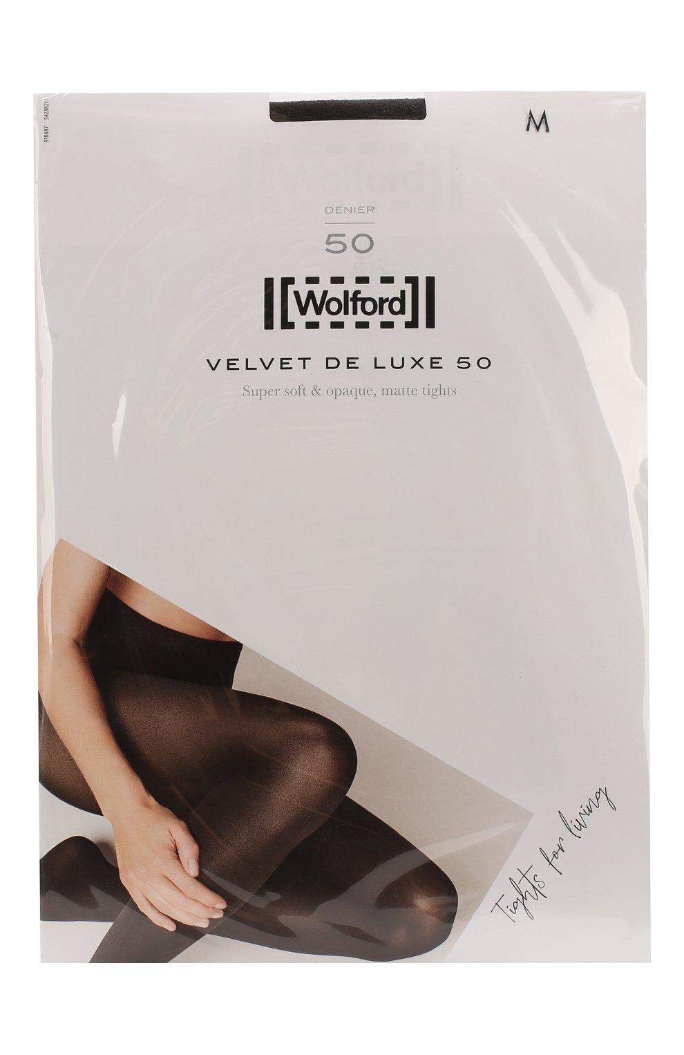 Женские капроновые колготки WOLFORD коричневого цвета, арт. 10687 | Фото 1