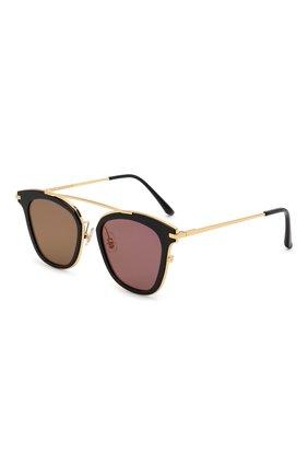 Женские солнцезащитные очки GENTLE MONSTER черного цвета, арт. X T0ME N0.1 SUPERNATURE 01 (9M) | Фото 1
