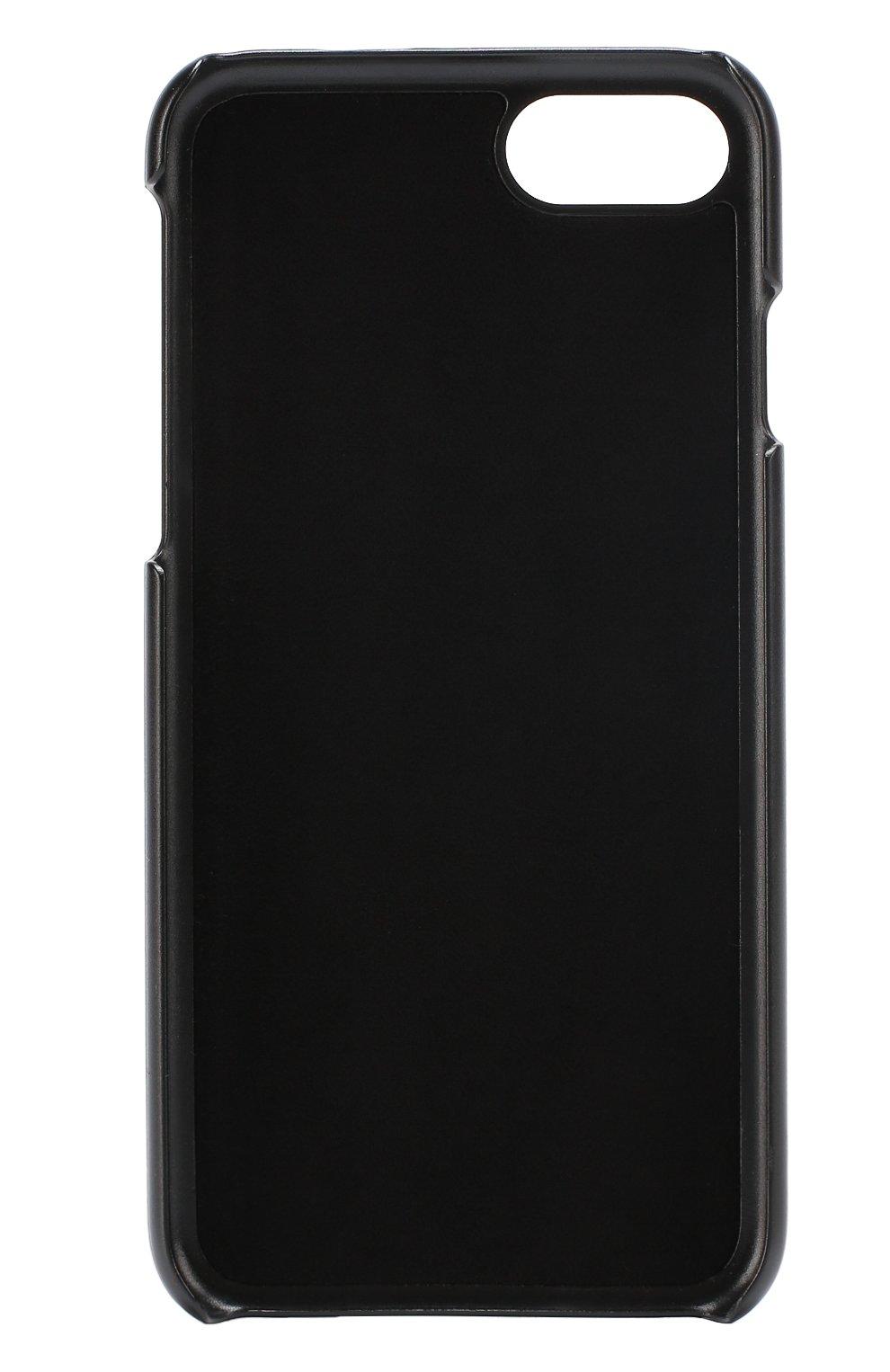 Мужской кожаный чехол для iphone 7 DOLCE & GABBANA бирюзового цвета, арт. 0115/BP2235/AC967 | Фото 2