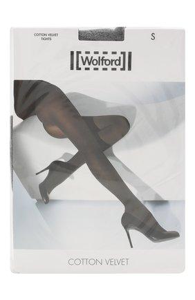 Женские капроновые колготки WOLFORD черного цвета, арт. 11130 | Фото 1