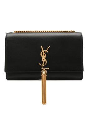 Женская сумка monogram kate medium SAINT LAURENT черного цвета, арт. 354119/C150J   Фото 1