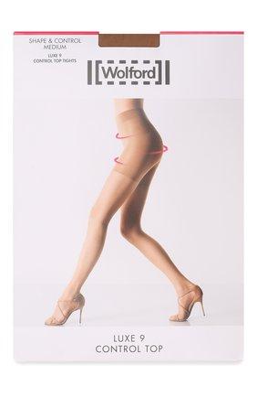 Женские капроновые колготки WOLFORD бежевого цвета, арт. 17056 | Фото 1