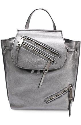 Рюкзак Zip Pack из металлизированной кожи | Фото №1