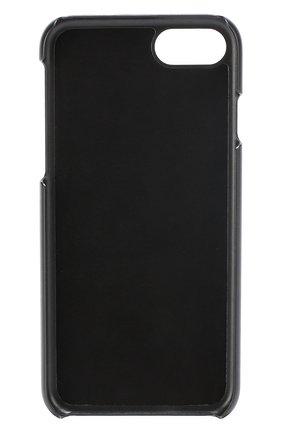 Кожаный чехол для iPhone 7 с принтом   Фото №2