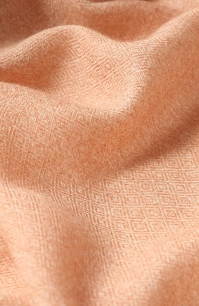 Мужской шарф из смеси кашемира и шелка LORO PIANA светло-розового цвета, арт. FAE3318 | Фото 2