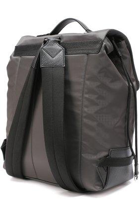 Текстильный рюкзак с внешним карманом на молнии | Фото №3
