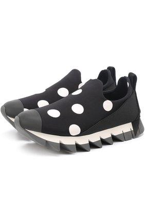 Комбинированные кроссовки Ibiza с принтом | Фото №1