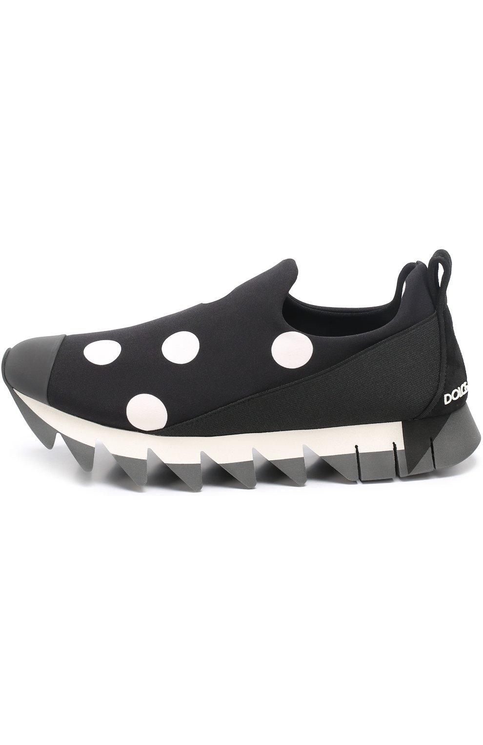 Комбинированные кроссовки Ibiza с принтом | Фото №3
