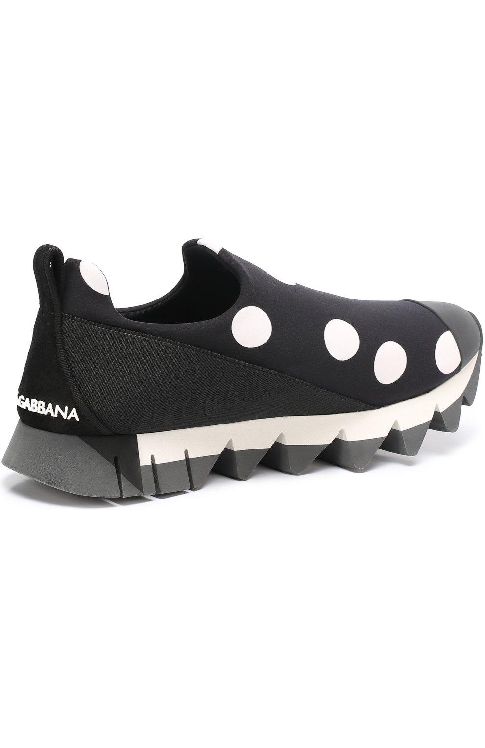 Комбинированные кроссовки Ibiza с принтом | Фото №4