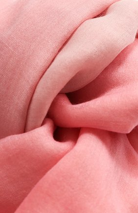 Женская палантин iride unique из кашемира LORO PIANA розового цвета, арт. FAF1911 | Фото 2