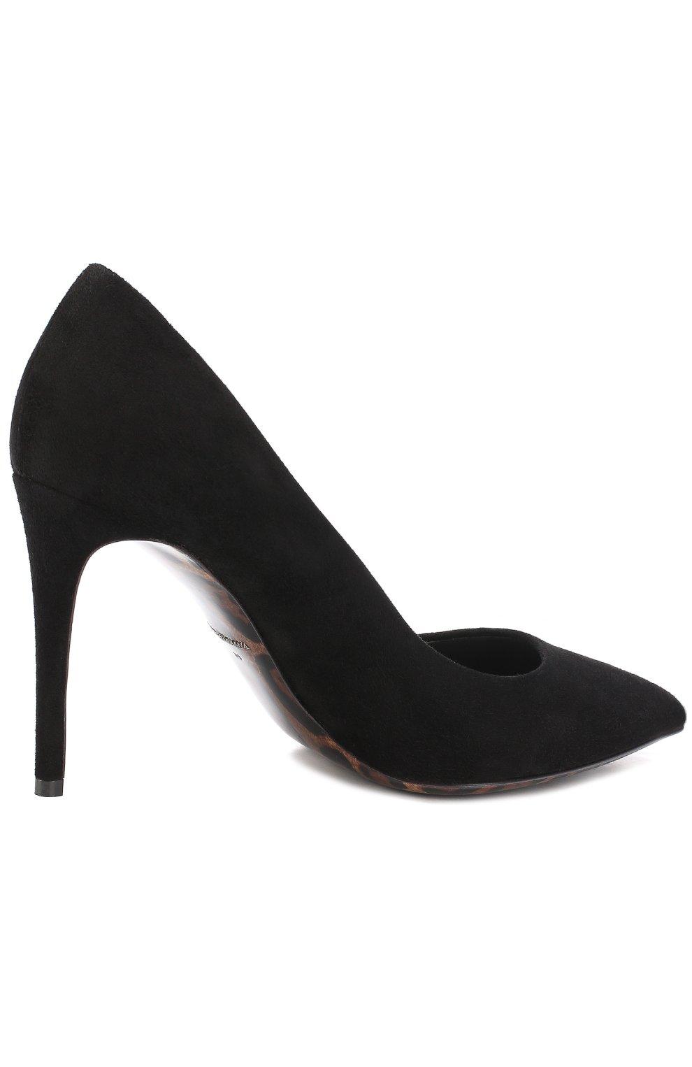 Замшевые туфли Kate Dolce & Gabbana черные | Фото №4
