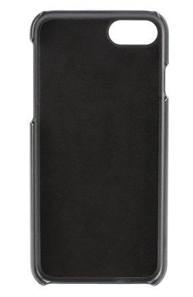 Кожаный чехол для iPhone 7 с принтом Dolce & Gabbana  | Фото №2