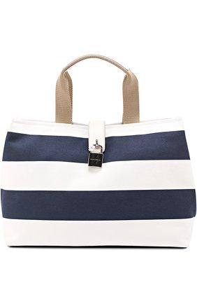 Сумка Dolce Shopping Dolce & Gabbana синяя цвета | Фото №1