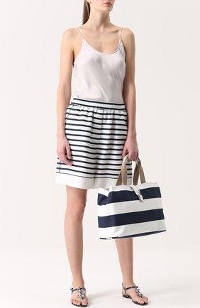 Сумка Dolce Shopping Dolce & Gabbana синяя цвета | Фото №2
