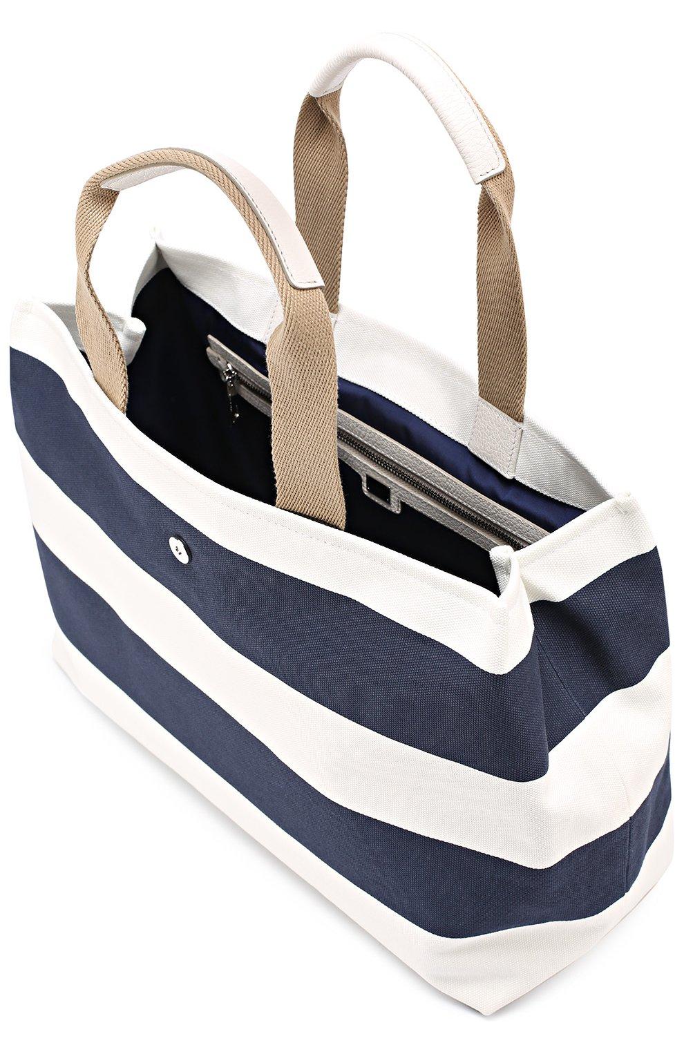 Сумка Dolce Shopping Dolce & Gabbana синяя цвета | Фото №4